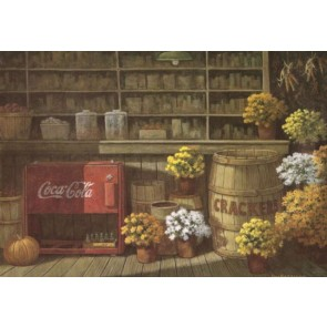 Country Store in Fall