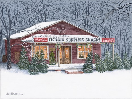 Coca-Cola Christmas 2013 (Christmas Fishing Store)