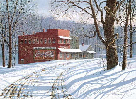 Coca-Cola and Snow