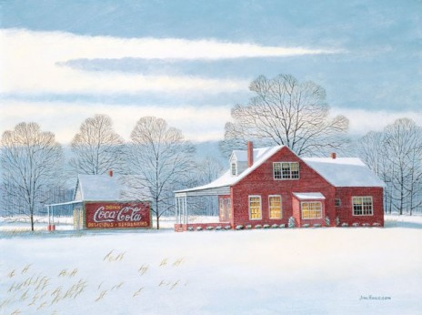 Red House and Coca-Cola